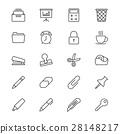 icon, folder, calculator 28148217
