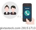 交流 矢量 智能手機 28151713