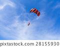 藍天 降落傘 滑翔傘 28155930