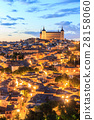 Toledo is capital of province of Toledo, Spain. 28158060
