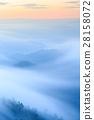 Mist over the mountains.landscape 28158072