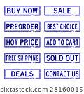 郵票 貿易 向量 28160015