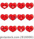 Heart Emoji Expressions 28160061