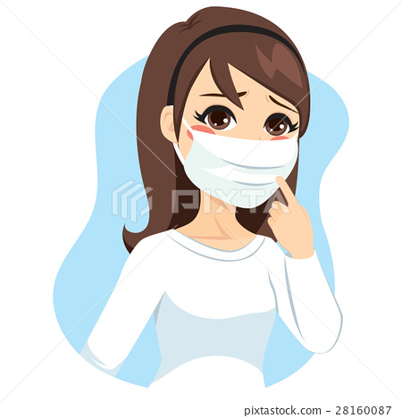 Woman Medical Mask 28160087