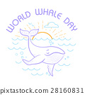 Greeting card.World Whale Day 28160831