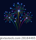 background, vector, firework 28164465