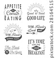 vector, quote, food 28164515