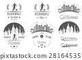 Set of Kickball Logo, Badges and Emblems 28164535