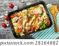rabbit braised with sour cream and tomatoes 28164882