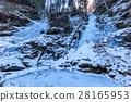 Valea lui Stan Gorge in winter, Romania 28165953