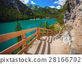Tourist trail in Dolomites 28166792