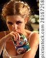 Wedding memories. Broken heart woman. Family break 28167258