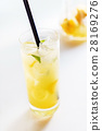 cocktail, lemon, fruit 28169276