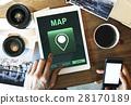 Map Destination Location GPS Concept 28170189