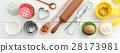 Baking ingredients and utensils 28173981