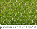 Back side the Goal football 28176236