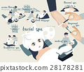 illustration graphic design vector of spa 28178281