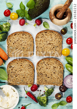 Healthy sandwiches 28182212