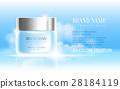 cosmetics, cream, vector 28184119