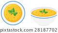 soup, bowl, pumpkin 28187702