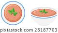 soup, bowl, front 28187703