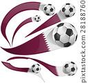 旗幟 旗 足球 28188760