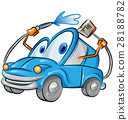 car wash cartoon 28188782