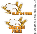gluten free symbol set  28188792