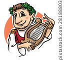 roman emperor cartoon 28188803