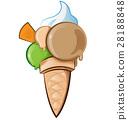向量 向量圖 冰淇淋 28188848