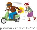 오토바이, 바이크, 범죄 28192123