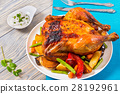 Roasted whole chicken 28192961