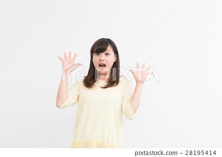 Women in their twenties surprised 28195414