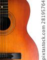 Acoustic guitar 28195764