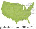 美國地圖 28196213