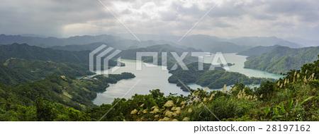 石碇千島湖漂亮的景緻 28197162