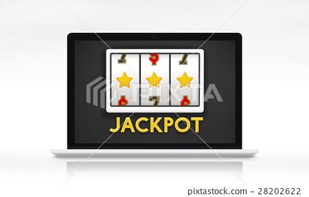 Online Casino Luck Concept 28202622