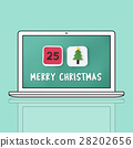 Merry Christmas Celebration Family Holiday Festive Concept 28202656