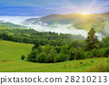 mountain, hill, fog 28210213