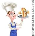chef, cartoon, hot 28213796