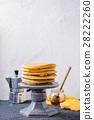 Ombre turmeric pancakes 28222260