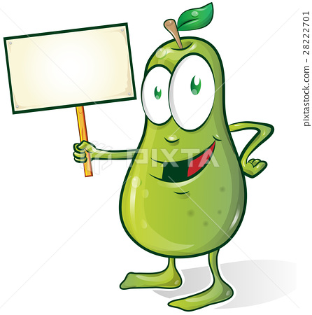 pear cartoon isolated  28222701