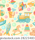 pattern seamless toys 28223483