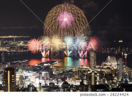 [Hyogo Prefecture] Minato Kobe Maritime Fireworks Festival 28224424