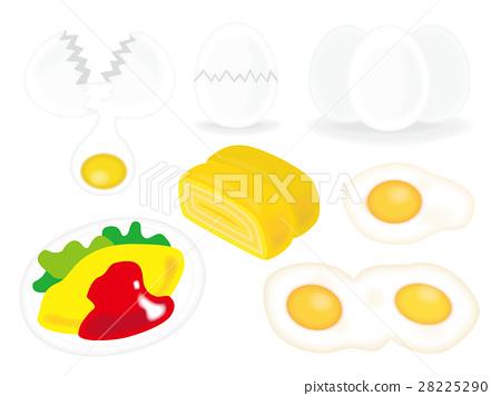 矢量 蛋 魚卵 28225290