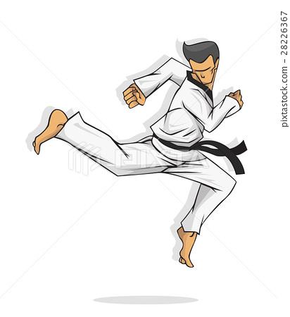Taekwondo. Martial art 28226367