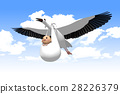 stork, storks, baby 28226379