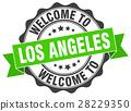 Los Angeles round ribbon seal 28229350