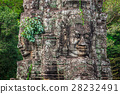 Stone murals and sculptures in Angkor wat 28232491