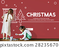 Christmas Celebration Enjoyment Graphic Concept 28235670